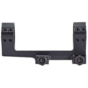 SIG Sauer Alpha 2 One Piece Scope Mounting System Picatinny Mount 34mm Diameter 20 MOA Bias Integral Scope Ring For AR-15 Flat Tops Aluminum Matte Black