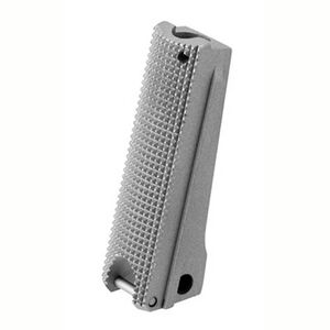 NIGHTHAWK CUSTOM  1911 Flat Mainspring Housing Checkered Stainless Steel