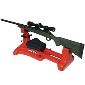 MTM Case-Gard K-Zone Adjustable Shooting Rest for Rifles and Handguns Plastic Red