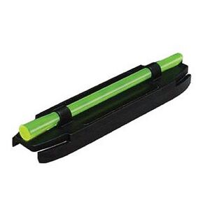 HiViz Front Sight Shotgun Magnetic Red Fiber Steel Black S400R