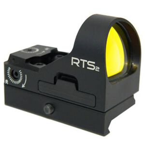 C-More Systems RTS Red Dot 6 MOA Dot One MOA Clicks Picatinny Mount Aluminum Black RTS2RB-6