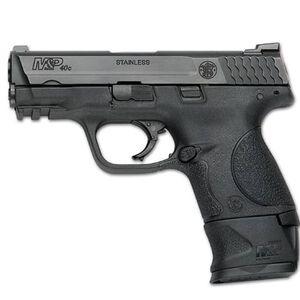 """S&W M&P40c with XGRIP .40S&W Semi Auto Handgun 3.5"""" Barrel 15 Rounds Black"""
