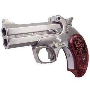 """Bond Arms Snake Slayer IV Derringer Handgun .357 Magnum 4.25"""" Barrel 2 Rounds Extended Grips Stainless Steel BASSIV357"""