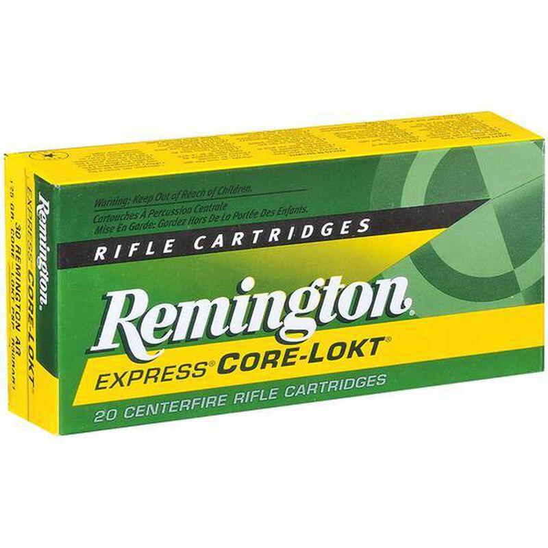 Remington Arms, .280 Remington Ammunition 20 Rounds, Core-Lokt PSP, 150 Grains