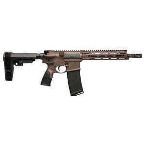 "Daniel Defense DDM4v7P 5.56 NATO AR-15 Semi Auto Pistol 10.3"" Barrel 32 Rounds M-LOK Handguard SOB Pistol Brace Mil-Spec + Cerakote Finish"