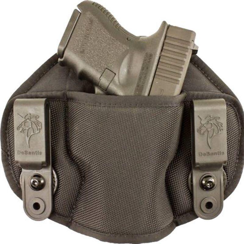 DeSantis Gunhide Vanquisher Medium to Large Frame Pistols IWB Holster Ambidextrous Nylon Black