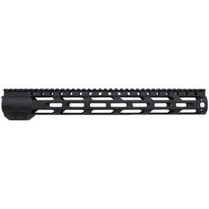 "Trinity Force MX-15 12"" M-LOK Free Float Rail Aluminum Black"