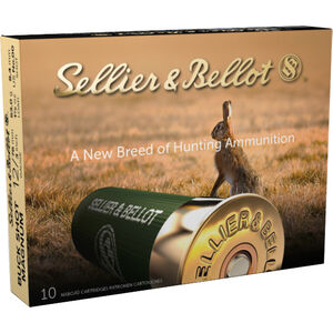 "Sellier & Bellot Buck Shot Magnum 12 Gauge Ammunition 10 Rounds 3"" 00 Buck 15 Pellets 1214 fps"