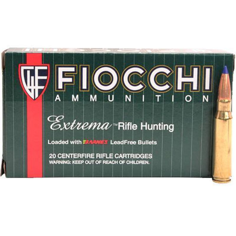 FIOCCHI .270 Winchester Ammunition 20 Rounds Barnes TTSX ...