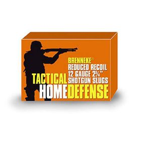 "Brenneke 12 Gauge 2.75"" 1 oz Rifled Slug 5 Round Box"