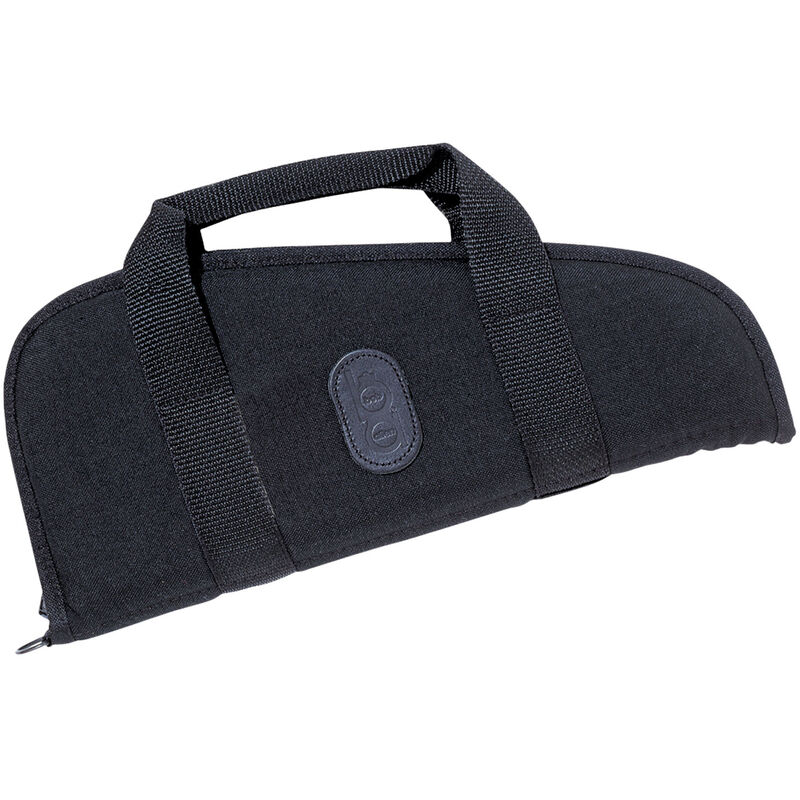 "Bob Allen Bison Pistol Rug 10"" Padded Canvas Fabric Black"