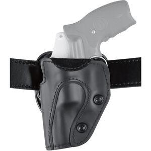 """Safariland 567 Custom Fit Belt Holster Fits N-Frame 4"""" Revolvers Left Hand Hardshell STX Plain Black"""