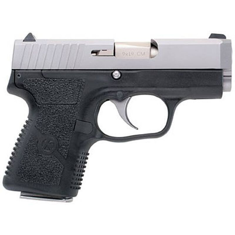 "Kahr Arms CM9 Semi Auto Handgun 9mm Luger 3"" Barrel 6 Rounds Polymer Frame Stainless Steel Slide CM9093"