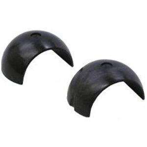 """Burris 1"""" Signature Ring Pos-Align Offset Inserts .020"""" Plastic Black"""