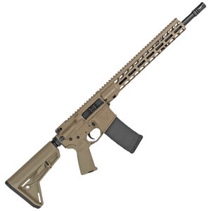 """Stag Arms Stag 15 Tactical 5.56 NATO Semi-Auto Rifle 16"""" Barrel 30 Rounds Optic Ready Magpul MOE SL Stock FDE Finish"""