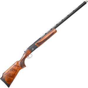 "Pointer SCT Basic Trap Youth 12 Gauge Break Action Shotgun 28"" Ported Barrel 1 Round Adjustable Cheek Piece Walnut Stock Black Finish"