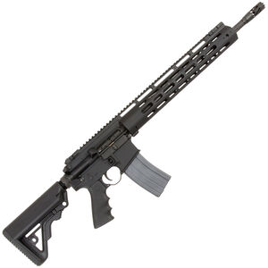 "RRA LAR-15 IRS XL Semi-Auto 5.56 NATO/.223 Rem Rifle, 18"" Barrel, 30 Rounds, Black"