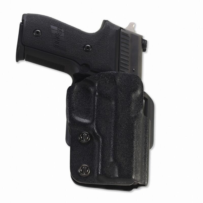 Galco Gunleather Stryker GLOCK 26, 27, 33 OWB Holster Right Hand Kydex Black STR286