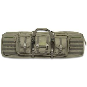 """Drago Single Rifle Tactical Case 42"""" 600D Polyester OD Green 12-303GR"""