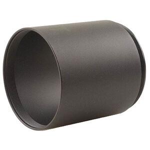 Leupold Scopesmith Sun Shades 56mm VX-6 Aluminum Black Matte Finish 118772