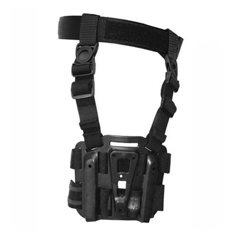 BLACKHAWK! SERPA Tactical Drop Leg Holster Platform Black Finish 432000PBK