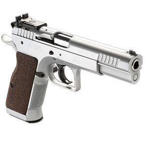 "IFG Tanfoglio Defiant Limited Pro .40 S&W Semi Auto Pistol 4.8"" Barrel 14 Rounds Large Frame Adjustable Sights Hard Chrome Finish"