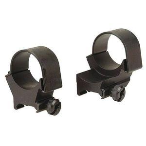 30mm Detachable Top-Mount Extension Rings High Black Matte