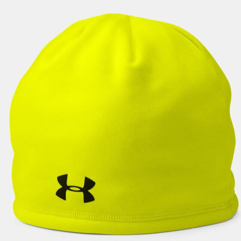 Under Armour UA Outdoor Fleece Beanie OSFA Polyester Hi Vis Yellow