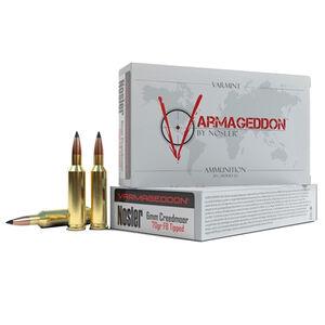 Nosler Varmageddon 6mm Creedmoor Ammunition 20 Rounds 70 Grain Varmageddon FB Tipped Bullet 3200 fps