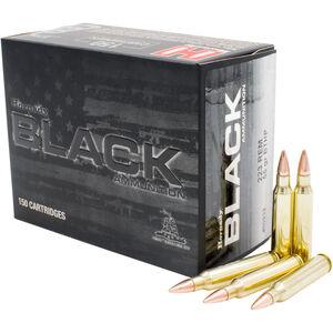 Hornady .223 Remington Ammunition 150 Rounds BTHP 55 Grains