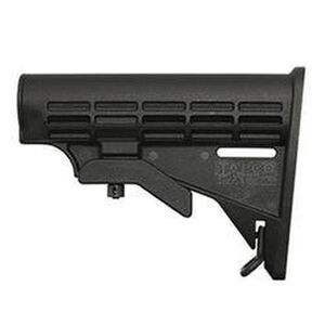 Tapco INTRAFUSE T6 AR-15 Commercial Diameter Replacement Stock Polymer Matte Black