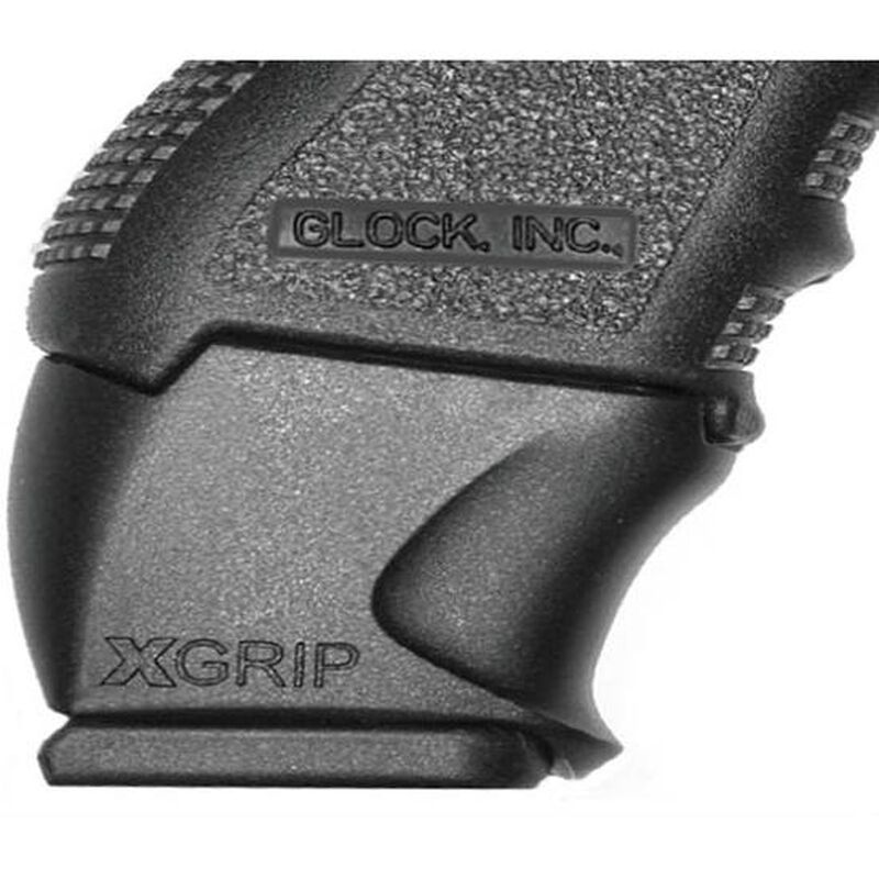 XGrip GLOCK 26-27 Magazine Adapter Magazine Spacer for Full Size GLOCK 17/22/31 Magazines Installed Into GLOCK 26/27/33 Frames Matte Black Finish