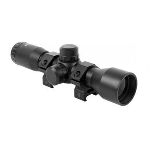 AIM Sports Compact 4x32 Riflescope Mil-Dot Reticle