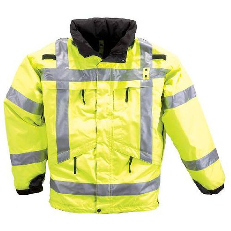 5.11 Tactical 3 in 1 High Visibility Parka Waterproof 4XL Yellow 48033