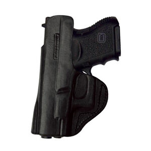 Tagua Gun Leather Inside Waistband Holster For GLOCK 43 Leather Right Hand Black IPH-355