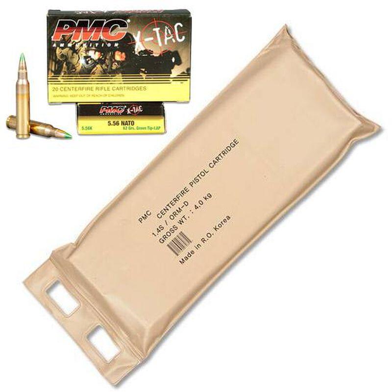 PMC X-TAC 5.56 NATO Ammunition 120 Rounds SS109 FMJ 62 Grains 5.56X-BP