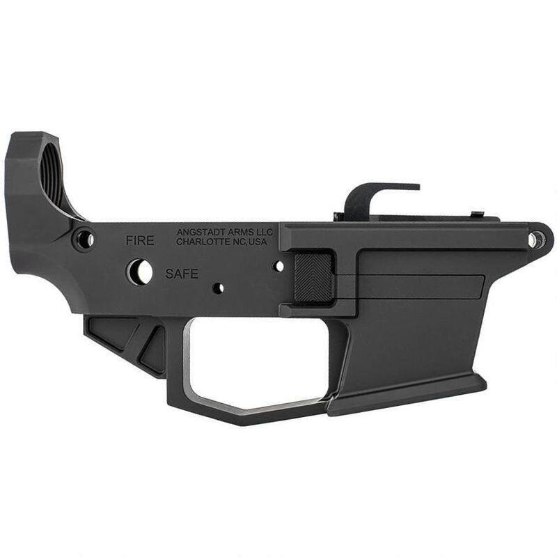 Angstadt Arms 1045 Pistol Caliber AR-15 Lower Receiver 10mm/ 45 ACP Billet  Aluminum Anodized Black