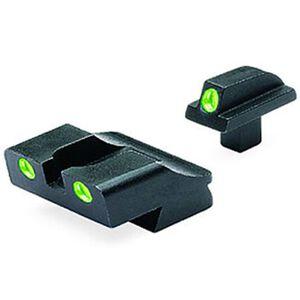 Meprolight Tru-Dot Fixed Night Sights Colt 1911 Green/Green Steel 10776