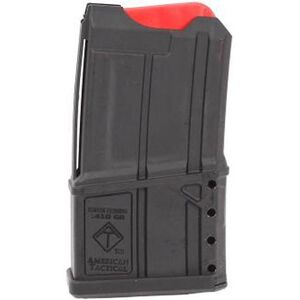 "American Tactical Imports Omni Hybrid AR-15 .410GA Shotgun Magazine .410 Bore 2-1/2"" Shot Shells 5 Rounds Polymer Black"