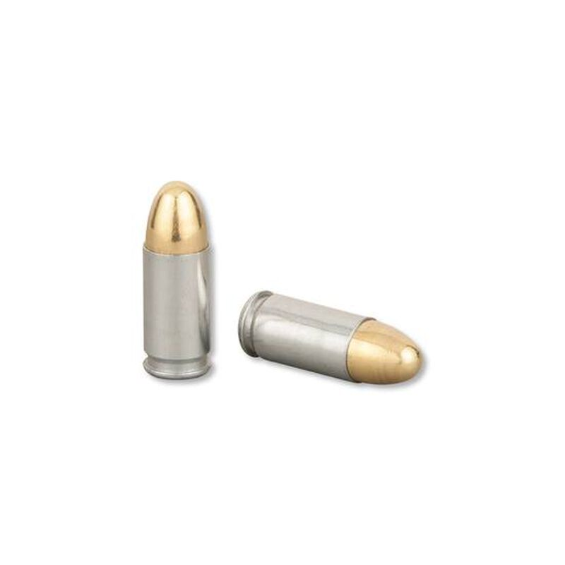 MAXXTech 9mm Ammunition, 1000 Rounds, Steel Case FMJ, 115 Grain