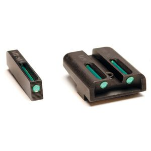 TRUGLO TFO SIG Sauer #6 Front/#8 Rear Tritium Fiber Optic Sight Set Green / Green TG131ST2