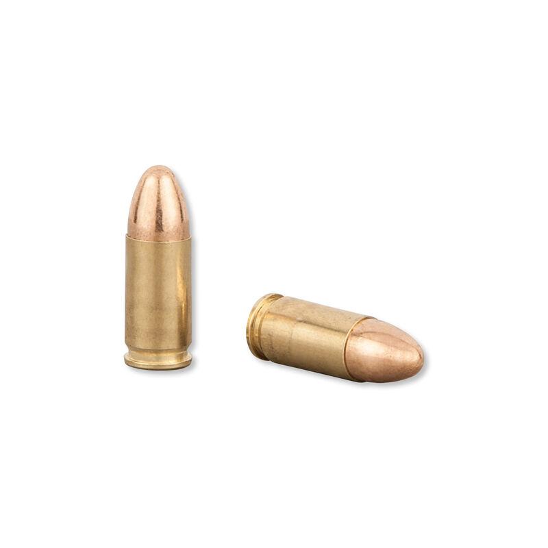 CCI Blazer Brass 9mm Luger Ammunition FMJ 115 Grains