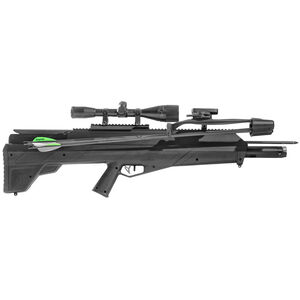 Benjamin Pioneer Airbow PCP Airbow Free-Floating Barrel 450 fps Single Shot 6x40mm Scope Polymer Bullpup Stock Black Finish