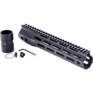 "Wilson Combat LR-308 High Profile MLOK Rail 10.6"" Free-Float Handguard Aluminum Black"