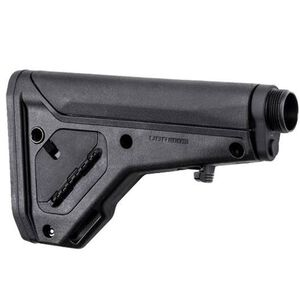Magpul UBR Gen2 Collapsible/Adjustable Stock AR-15/AR-10 Carbine/A5 Receiver Extensions QD Sling Points Footman's Loop Synthetic Polymer Matte Black Finish