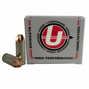 Underwood Ammo 10mm Auto Xtreme Defender 115 Grain 20 Round Box