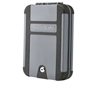 Snapsafe Treklite XL Lock Box Key Lock Polycarbonate Black/Gray 75212