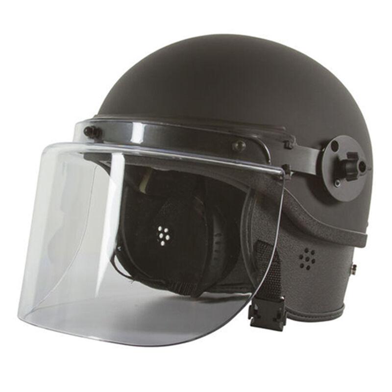 Monadock Products Polycarbonate Riot Helmet Small/Medium No Face Shield Black