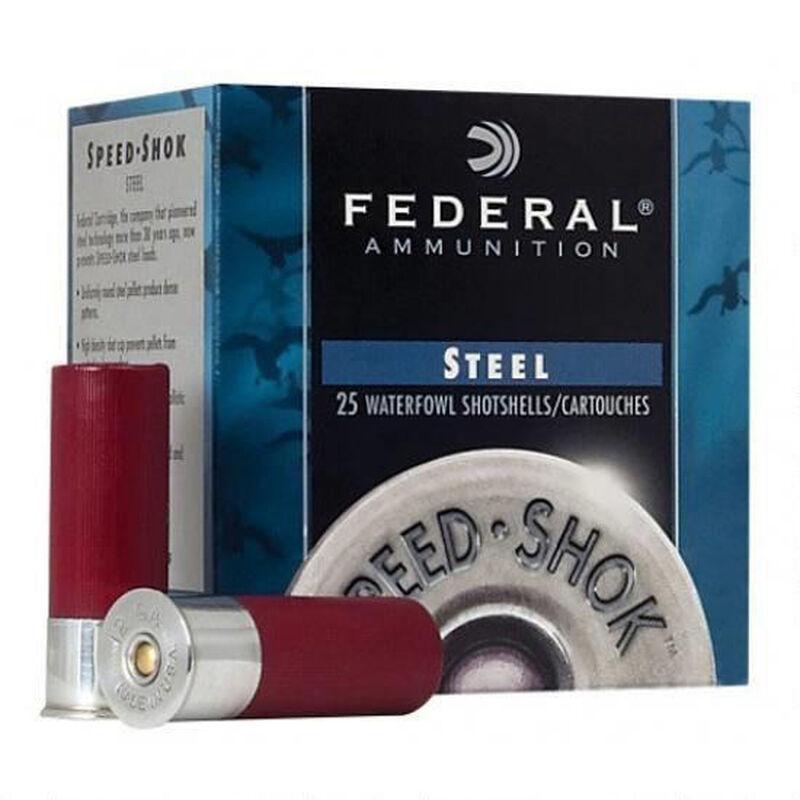 "Federal Ammunition Speed-Shok 20 Gauge 2.75"" #4 Steel .75oz 250 Rounds"