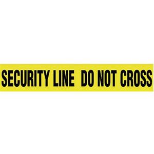 """Pro-Line Barricade Tape 1000' """"Security"""" Tape 3"""" Width BT06"""
